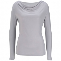 Edwards Women's Cowl Neck Long Sleeve Knit Top