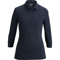 Edwards Ladies' 3/4 Sleeve Optical Polo