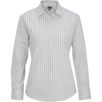 Edwards Ladies' Double Stripe Dress Poplin Shirt