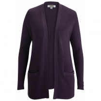 Edwards Ladies' Open Front Cardigan With Pockets