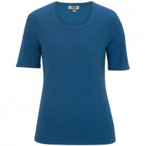 Edwards Women's Short Sleeve Scoop Neck Sweater
