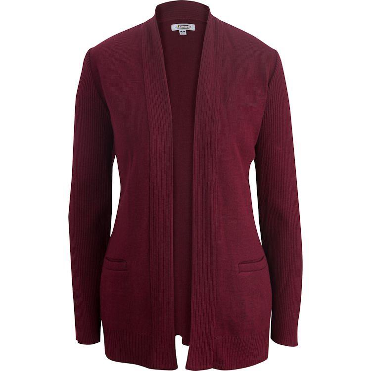 Edwards V-Neck Acrylic Sweater Vest X-Large Charcoal