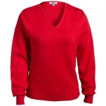 Edwards Women's V-Neck Cotton Sweater