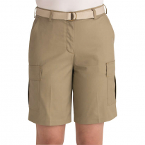 Edwards Women's Blended Chino Flat Front Cargo Short