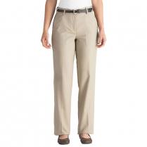 Edwards Ladies' Microfiber Flat Front Dress Pant