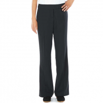 Edwards Women's Mid-Rise Boot Cut Polyester Flat Front Pant