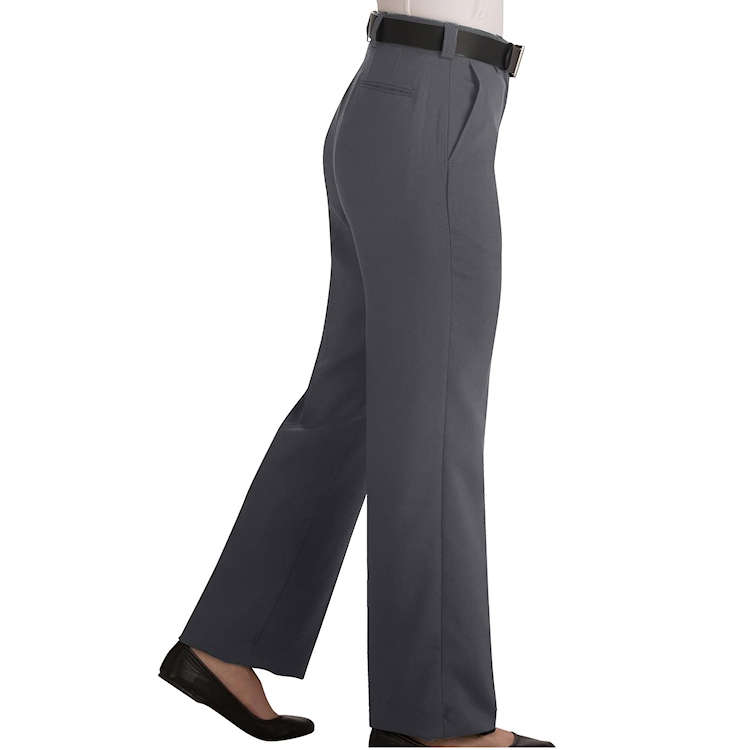 Edwards Garment Womens Classic Fit Flat Front Security Pant