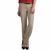 Edwards Women's Microfiber Flat Front Dress Pant with Repreve