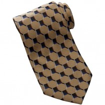 Edwards Men's Signature Honeycomb Silk Tie
