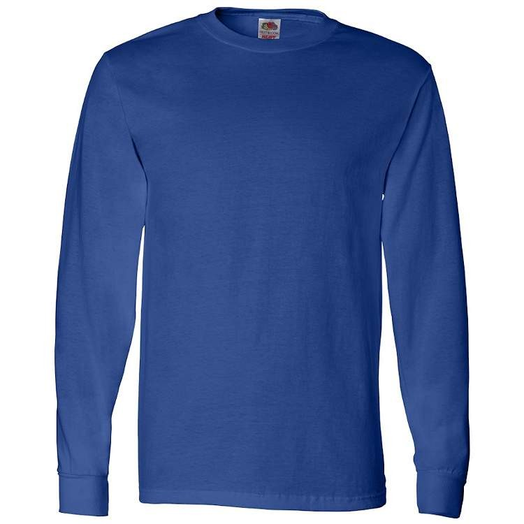 Fruit of the Loom HD Cotton Long Sleeve T-Shirt