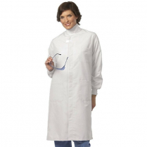 Fashion Seal Unisex Protective Coat w/Hook & Loop at Neck - Texture Shield Front
