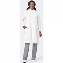 Fashion Seal Protective Coat - Snap Closure at Neck - Texture Shield® - Poly/Cotton Back - No Pockets