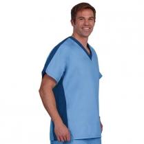 Fashion Seal Unisex Side Flex Scrub Shirt - Fashion Poplin