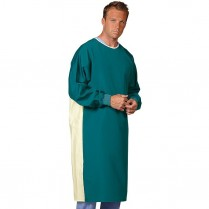 "Fashion Seal Barrier-Front Precaution Gown 48.5"" Long - Texture Shield Front"