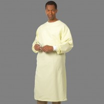 "Fashion Seal All-Barrier Precaution Gown 44"" Long - Fashion Shield"