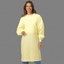 "Fashion Seal Barrier-Front Precaution Gown 42.5"" Long - Fashion Shield Front"