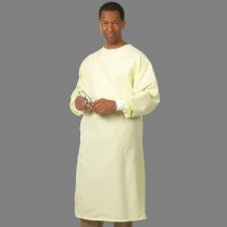 "Fashion Seal All-Barrier Precaution Gown 48.5"" Long - Texture Shield D-Stat"