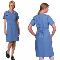 Fashion Seal Ladies' Step-In Scrub Dress