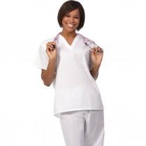 Fashion Seal Unisex Reversible Set-in Sleeve Scrub Shirt - 100% Cotton