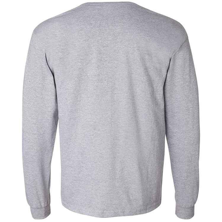 Gildan DryCotton Long Sleeve T-Shirt with Pocket