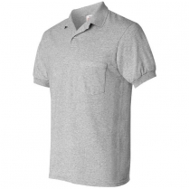 Hanes Ecosmart Jersey Sport Shirt with a Pocket