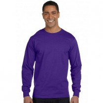 Hanes Long Sleeve Beefy-T Tee Shirt