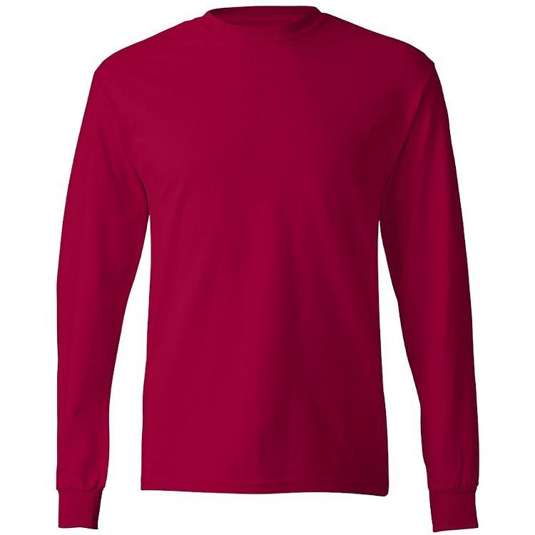 Hanes Tagless 6.0 oz. Long Sleeve T-Shirt