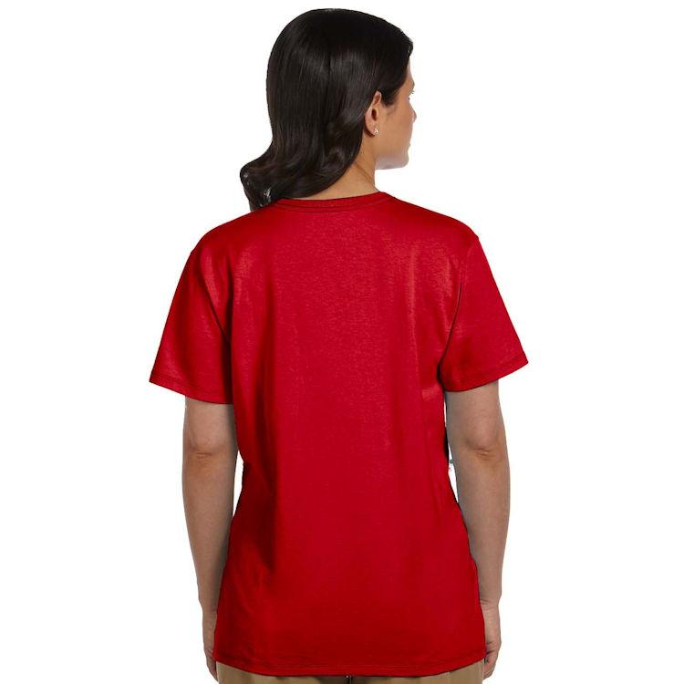 Hanes Women's Tagless V-Neck T-Shirt