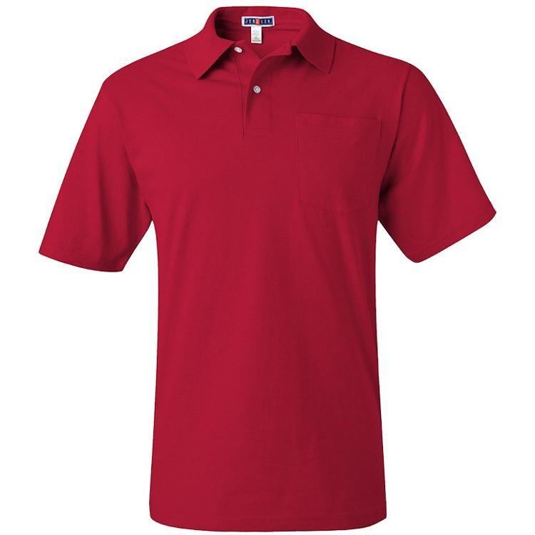 Jerzees SpotShield Jersey Sport Shirt with Pocket