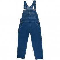 Key Women's Ring Spun Denim Bib Overall