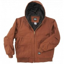 Key Insulated Hooded Duck Jacket