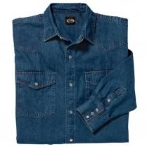 Key Denim Western Shirt, Long Sleeve