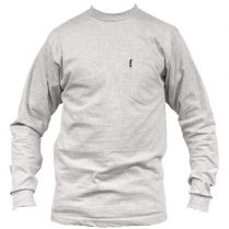 Key Heavyweight Pocket T-Shirt, Long Sleeve
