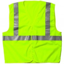 Key ANSI II Class 2 Hi-Visibility Mesh Vest, Velcro Front