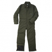 Key Insulated Twill Coverall, Hip Zip