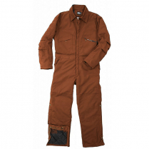 Key Insulated Duck Coverall, Hip Zip