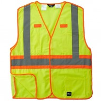 Key Hi-Visbility Break-A-Way Solid Vest