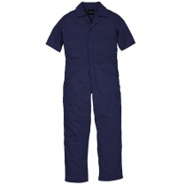 Key Poplin Unlined Coverall, Short Sleeve