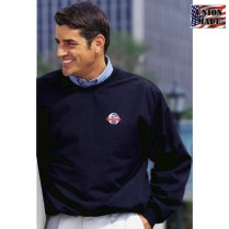 King Louie Finley Poplin Golf Pullover