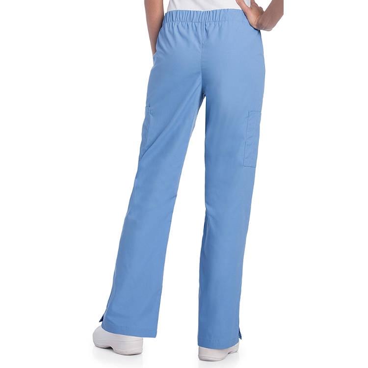 Landau Women's Poplin Updated Cargo Pant