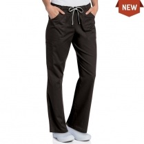 Landau Women's All Day Full Elastic Cargo Pant with Drawcord