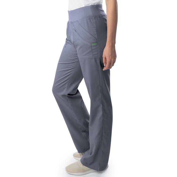 Landau Women's Modern ProFlex Cargo Pocket Yoga Scrub Pant