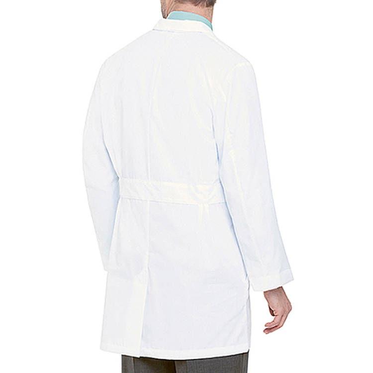 Landau Men's Lab Coat - 100% Cotton Super Twill