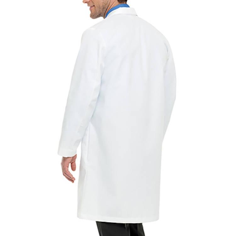 Landau Men's Lab Coat - 100% Cotton Super  Classic Full Length
