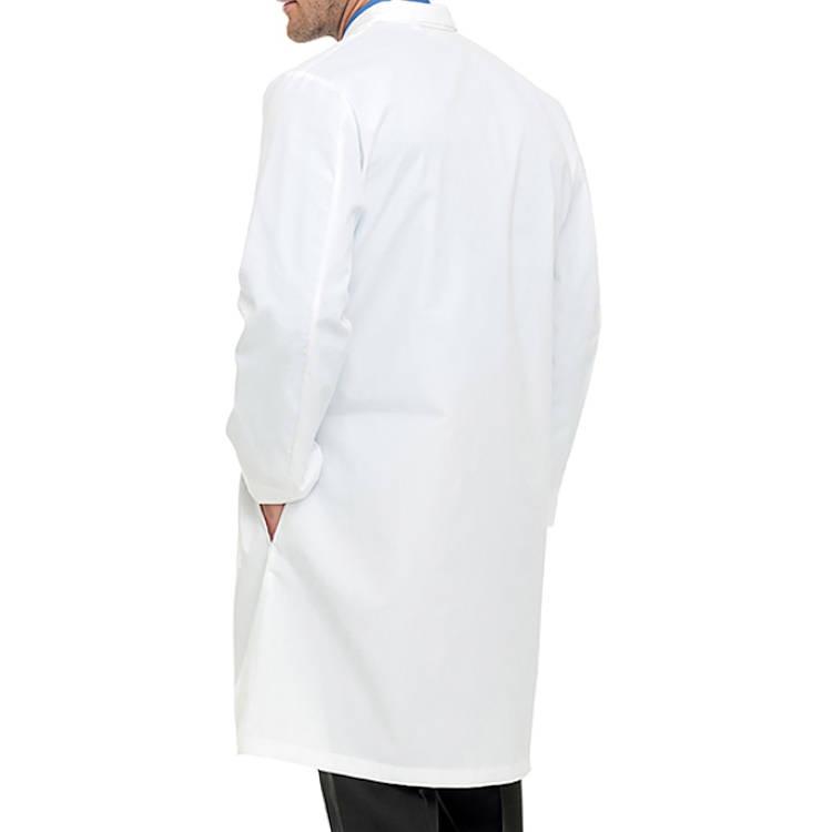 Landau Men's Lab Coat - 65% Poly/35% Combed Cotton 5 Buttons