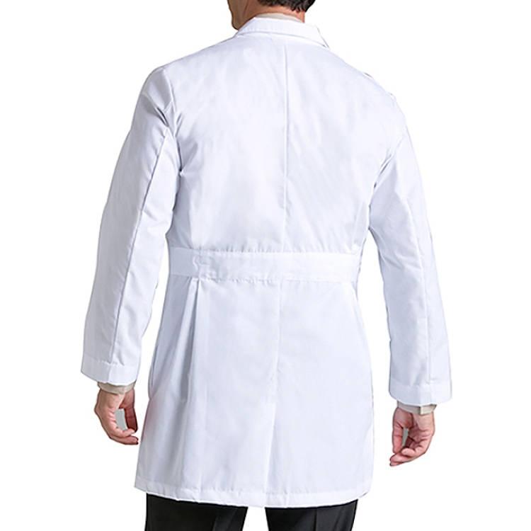Landau Men's Lab Coat - 65% Poly/35% Combed Cotton Staff Length