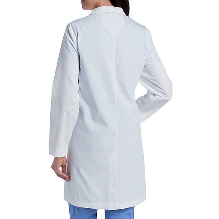 Landau Women's Lab Coat - Knot Button