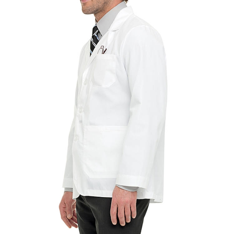 Landau Men's Consultation Coat - 65% Poly/35% Combed Cotton Poplin