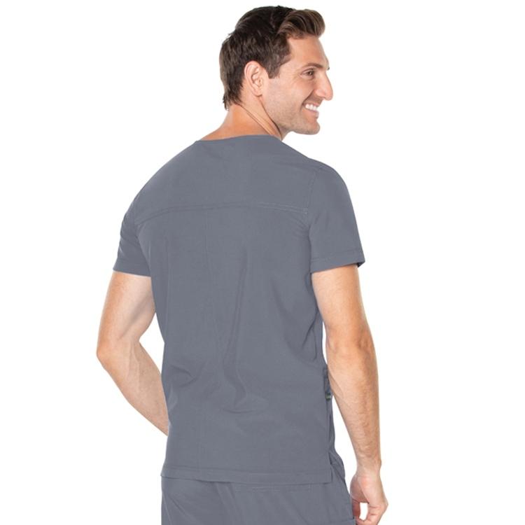 Landau Men's ProFlex V-Neck 4 Pocket Top