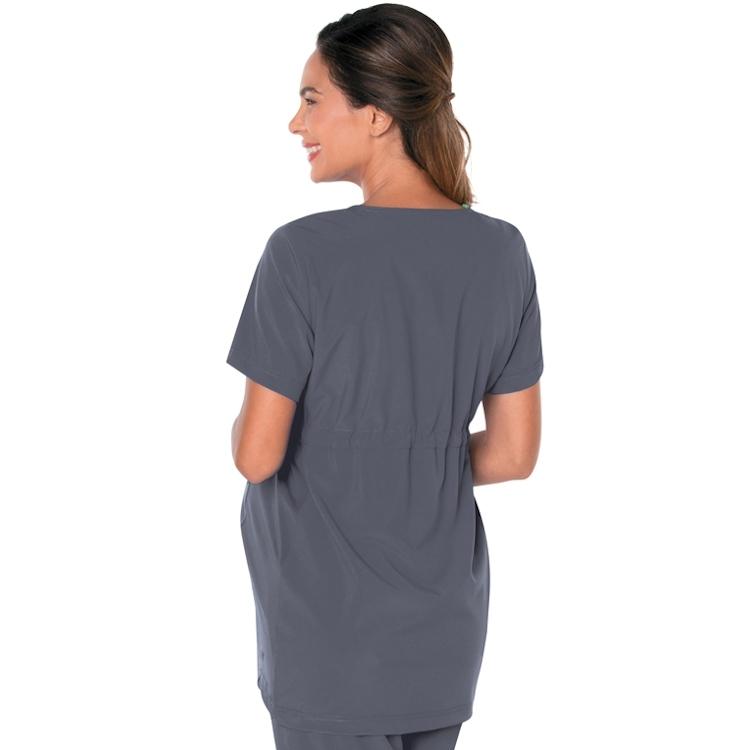 Landau Women's Modern ProFlex Maternity Crossover V-Neck Tunic